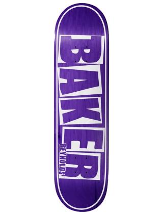 Baker AR Brand Name Purple Veneer 8.125'' - Deck