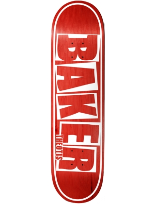 Baker Theotis Brand Name Veneer Red 8.5'' - Deck