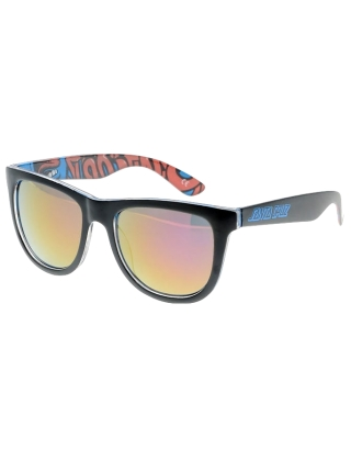 Santa Cruz Screaming Insider Sunglasses - Black/Blue