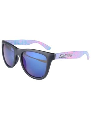 Santa Cruz Snake Strip Sunglasses - Black