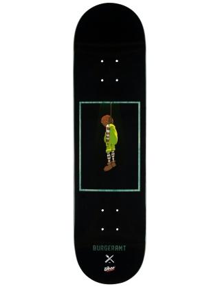 Skateboard deck Inpeddo Über x Burgeramt 8.375'' Grey - Deck Photo 1