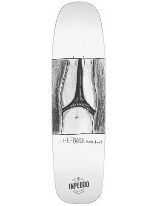 Skateboard deck Inpeddo X Forvert I SEE FRANCE 8.75'' - Deck Photo 1