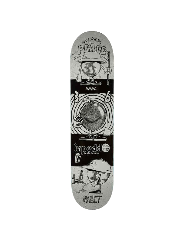 Skateboard deck Inpeddo Mr. Earth 8.25'' - Deck only Cover Photo