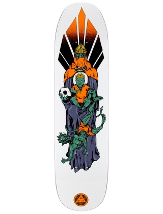 Welcome Futbol On Son Of Moontrimmer White 8.25'' - Deck