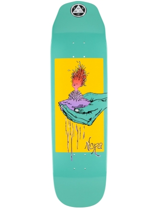 Welcome Nora Vasconcellos Soil on Wicked Queen Teal Dip 8.6'' - Deck