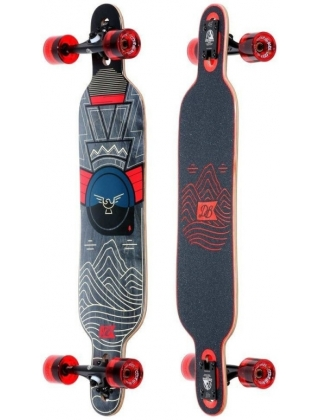 """DB Longboards Pioneer 38"""" Mountains Complete."""