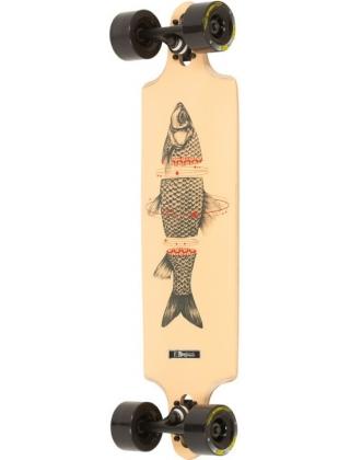 "DB Longboards Sashimi (Fish) 32"" Longboard Complete."
