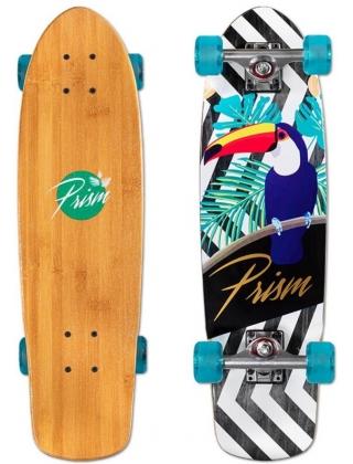 """Prism Skipper Fauna 27"""" Cruiser Skateboard Complete."""