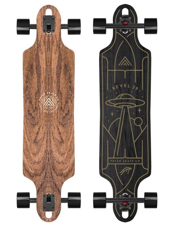 "Longboard Prism Revel 39"" Liam Ashurst Series - Longboard Complete. Cover Photo"