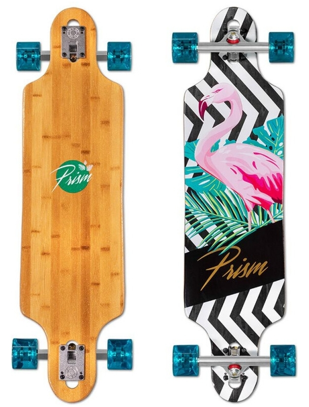 "Longboard Prism Revel 36"" Fauna Series - Longboard Complete. Cover Photo"