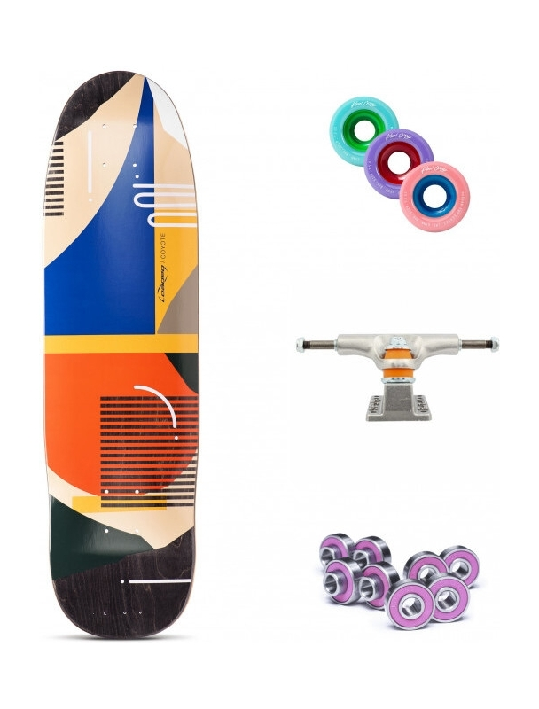 """Longboard Loaded """"Hola Lou"""" Coyote All-round 30.75"""" Longboard Complete. Cover Photo"""