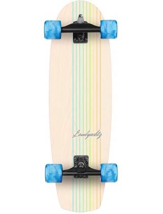 "Landyachtz Butter White Oak Lines 31"" - Surfskate Complete."