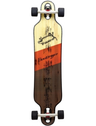 Moonshine Bootlegger Longboard Complete.