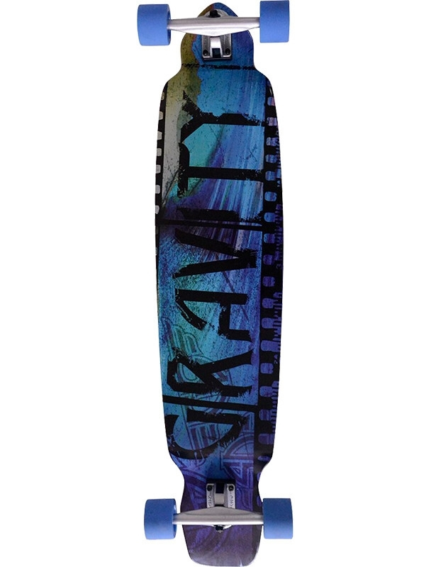 "Longboard Gravity Film Strip 43"" Longboard Complete. Cover Photo"