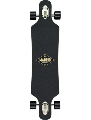 Longboard Madrid Spade I4 Dipped DT Complete. Photo 2