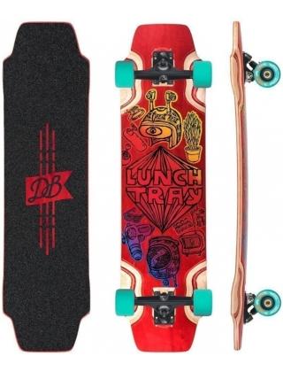 """DB Longboards Lunch Tray 36 """"Cartoon"""" Longboard Complete."""