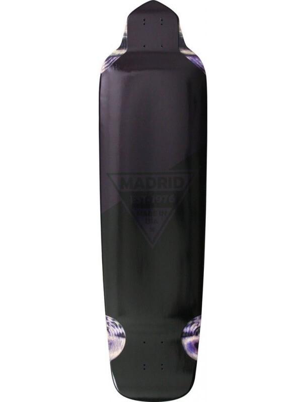 Longboard Madrid Bigfoot Purple Metallic Premium Complete. Cover Photo