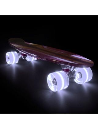 Longboard Sunset 2600 - Cruiser Skateboard Led Light Complete. Photo 1