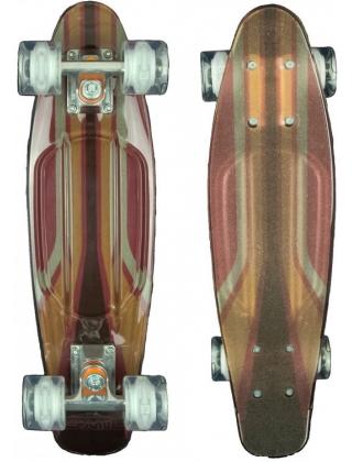 Sunset 2600 - Cruiser Skateboard Led Light Complete.