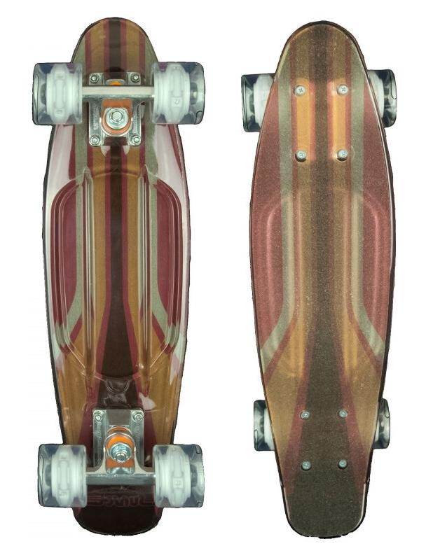 Longboard Sunset 2600 - Cruiser Skateboard Led Light Complete. Cover Photo
