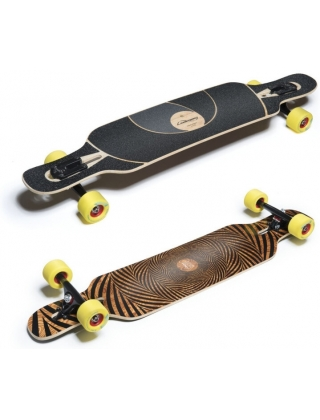 Loaded Tan Tien 'Abstract' V3 Longboard Complete.