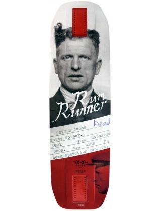 Moonshine Rum Runner Convict Longboard Deck.