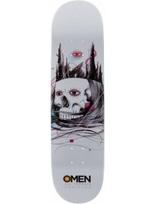 """Omen Skull Castle 8"""" - Skateboard Deck."""