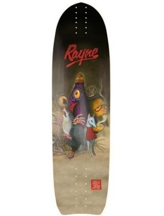 Rayne Genesis 100 Demons Longboard Deck.