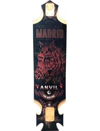 Madrid Pro Series Anvil Zak Maytum Longboard Deck.