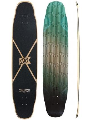 DB Longboards Dance Floor 43 Flex 1 Green Longboard Deck.
