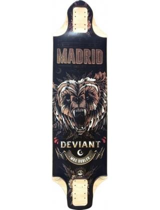 Madrid Pro Series Deviant Max Dubler Longboard Deck.