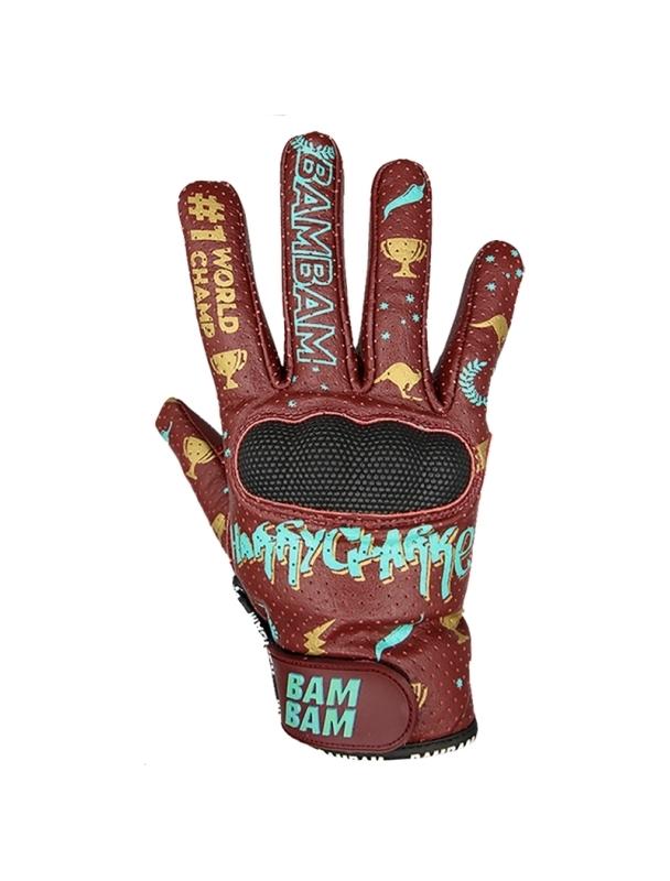 Slide gloves BamBam Leather Gloves - Harry Clark World Champ Cover Photo