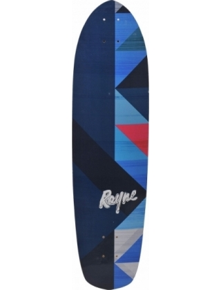 Rayne Anthem Geo GraphicLongboard Deck.