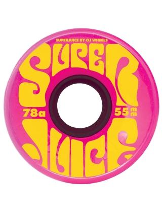 Santa Cruz Mini Super Juice 55mm 78A - Yellow/Pink