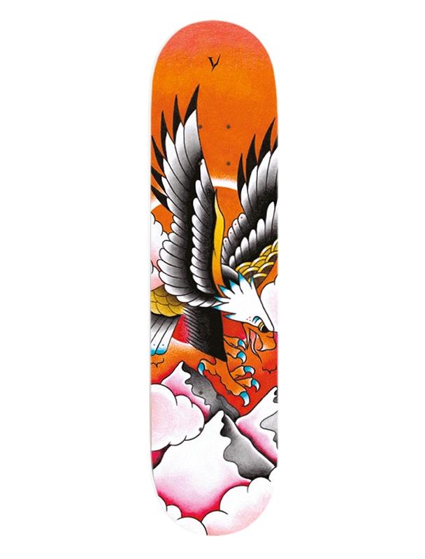 Deck skateboard Verdad OG Tattoo Eagle 8.25'' - Deck Cover Photo