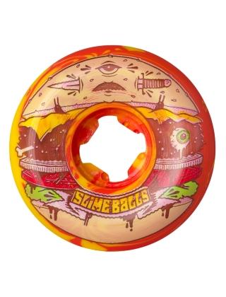 Santa Cruz Jeremy Fish Burger Speed Balls Red Yellow Swirl 99a - 56mm