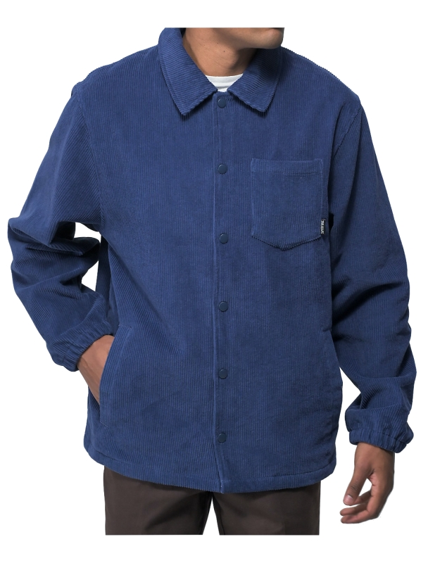 Jacket Spitfire Jacket Classic Swirl Cord - Deep Blue Cover Photo