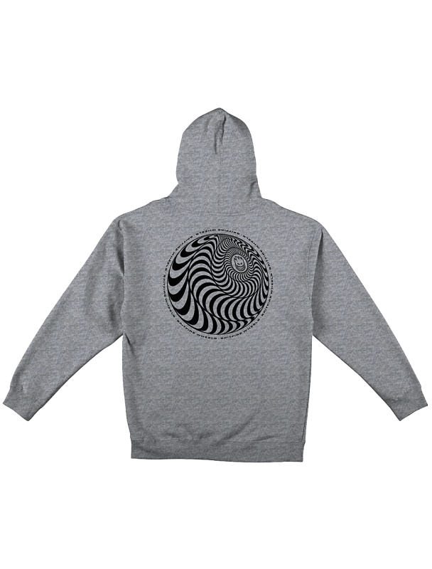 Sweat Spitfire Hoodie Skewed Classic - Grey Heather Cover Photo