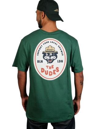 The Dudes Local Grower S/S Tee - Green