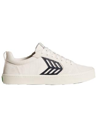 Cariuma Catiba Pro Vintage White Suede/Canvas Black - Skate Shoes