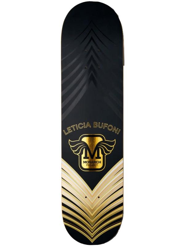 Skateboard deck Monarch Bufoni Horus R7 8.0'' - Gold Cover Photo