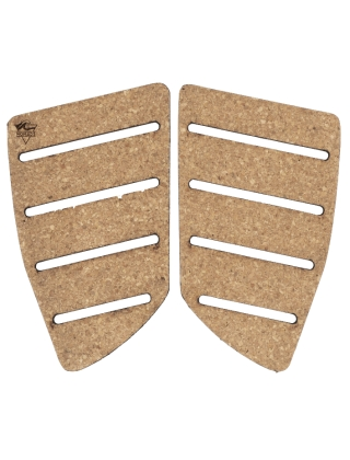 Nomads Surfing Cork Fish Back Pads - 2 Pieces