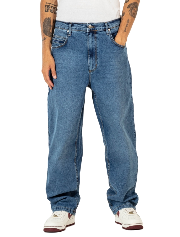 Pants Reell Baggy - Retro Mid Blue Cover Photo