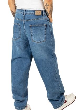 Pants Reell Baggy - Retro Mid Blue Photo 2