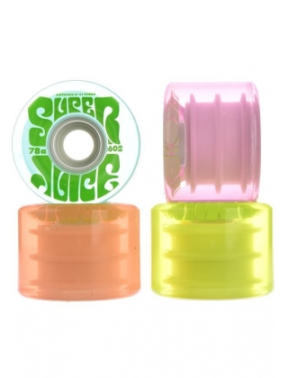 Wheels OJ Wheels Super Juice 78A - multi transparent