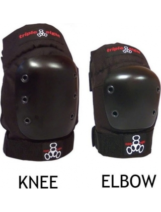 Triple Eight Park 2-Pack - Knee  Elbow Protection