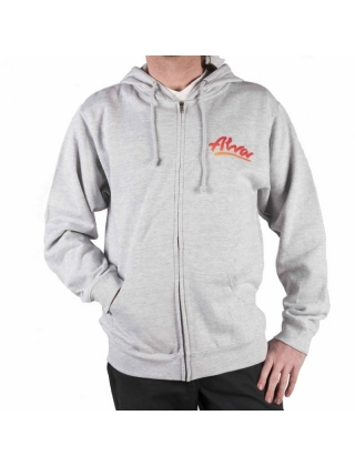 Alva OG Zip-Up Hoodie Grey