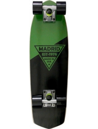 "Madrid Party 24"" Green Metallic Logo"