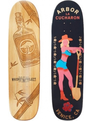 "Arbor Cucharon Legacy Bamboo 8.75""- Deck Only"