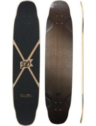 DB Longboards Dance Floor 43 Flex 2 Black - Deck Only